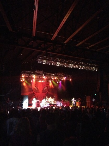 Sammy Hagar and the Waborita's at the Ava Amphitheater in Tucson, Arizona 7/26/2013