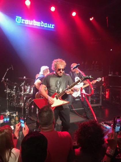 The Troubadour Gig