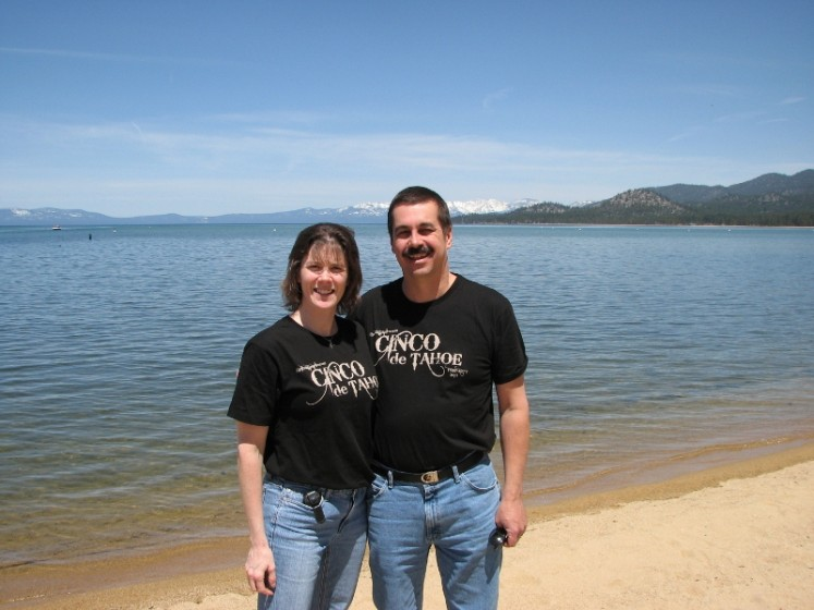 Barb & I in South Lake Tahoe