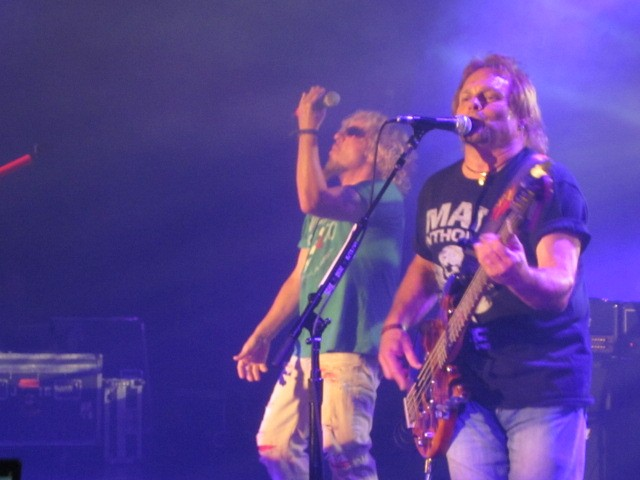 Michael Anthony... with Sammy