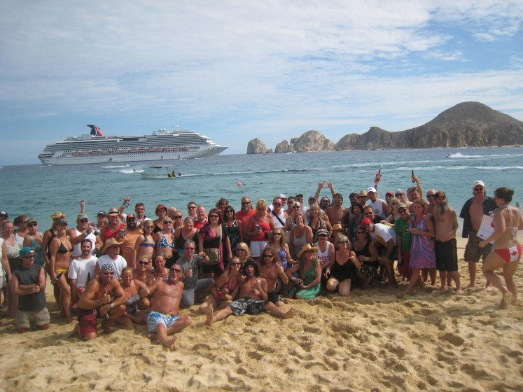 sammys bday beach party 2011 cabo,mx
