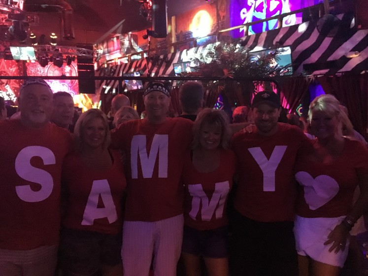 Sammy 70th night two!