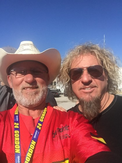 Sammy Rocks NASCAR AAA Texas 500