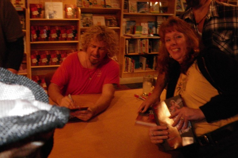 Terri Stevenson @ Sammy's Book Signing in St. Louis, MO