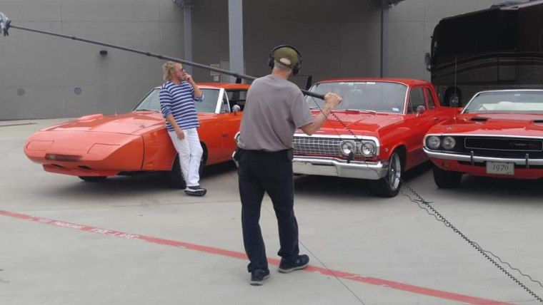 Sammy in Houston/Sugarland and my Hemi 69 Charger Daytona