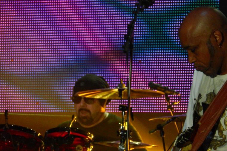 Jason Bonham and Vic Johnson July 26 2014