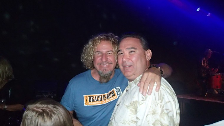 SAMMY HAGAR SAMMY'S BEACH BAR RUM PARTY LAS VEGAS