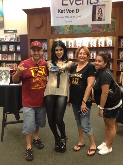 Kat Von D C-town in the house