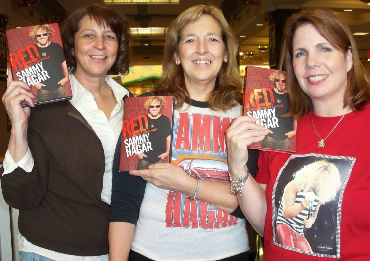 Our pic from the Huntington Beach Booksigning