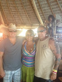 Linda, Larry & Trevor in Cabo 10-13-2012