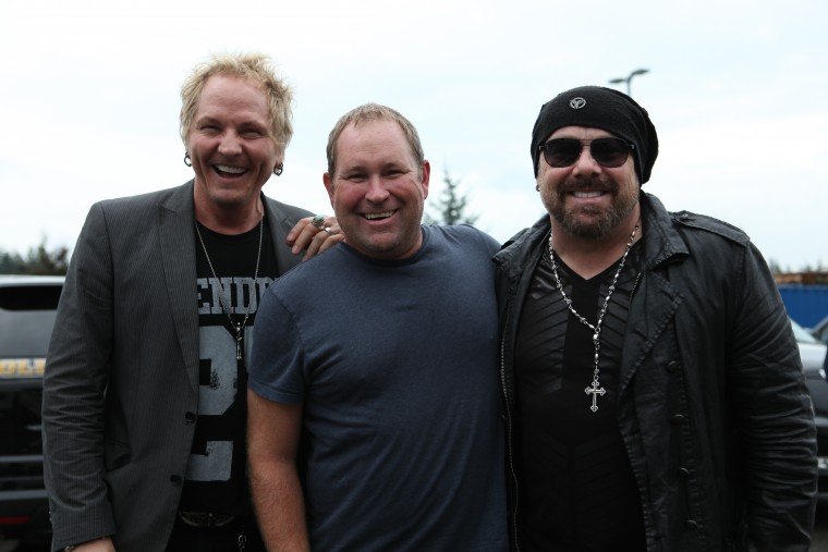 Hanging out with Rock & Roll Hall of Famer and Rock legend Drummers