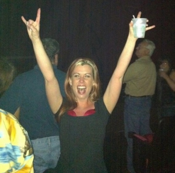 Me at Biloxi show 10 seconds before the curtain dropped