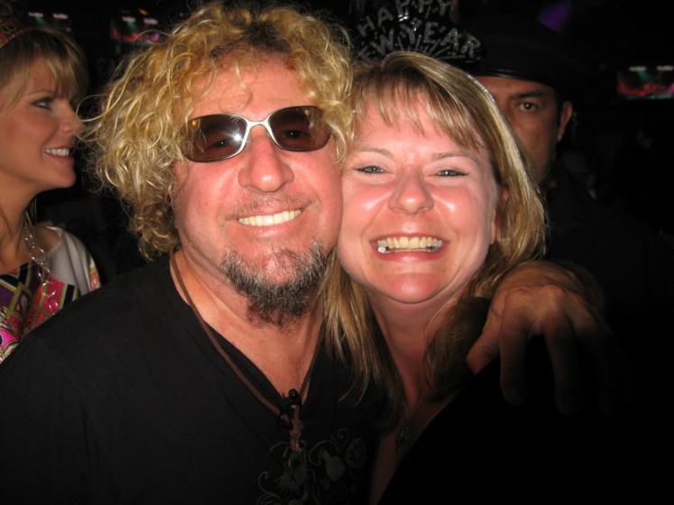Me and Sammy NYE 08