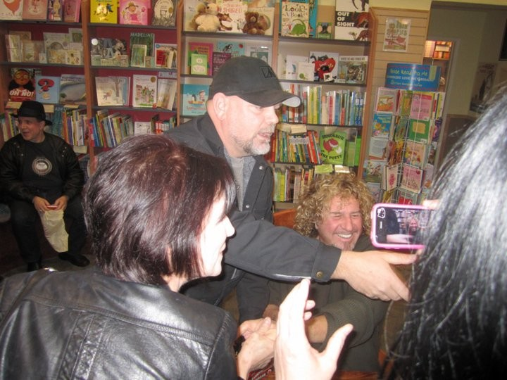Me and Sammy @ SF signing!