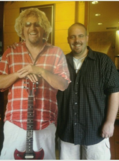 Me and Sammy Cutout - St. Louis