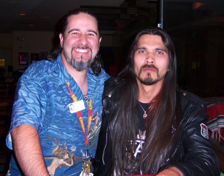 Me & Aaron Hagar
