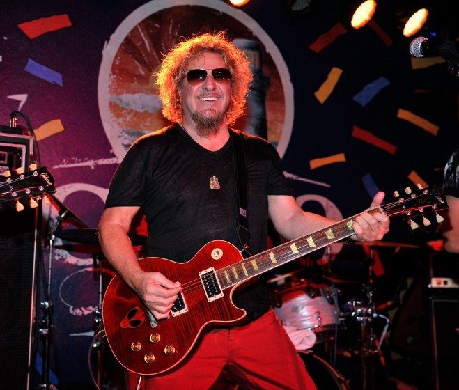 sammy hagar rocks the final night of cabo wabo cantina 39 s third anniversary celebration with free. Black Bedroom Furniture Sets. Home Design Ideas