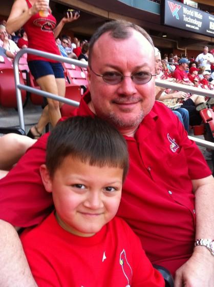 Myself and Nick my son.