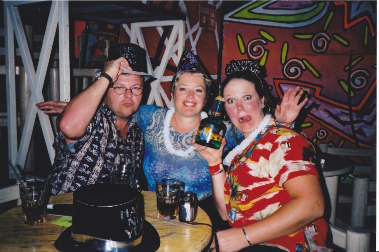 New Years Eve at Cabo Wabo Mexico 2001
