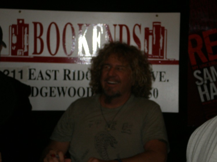 Sammy &#039;s Book Signing @ Bookends in Ridgewood N.J March 15th