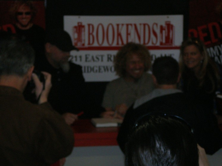 Sammy 's Book Signing @ Bookends in Ridgewood N.J March 15th