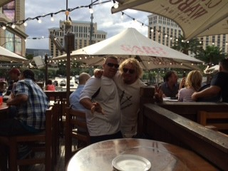 Sammy and me at the Cabo Wabo in Vegas