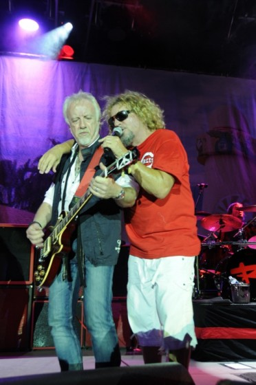 Sammy and Brad Whitford in Cincinnati