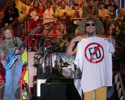 NO ED at Rockfest, Cadott WI