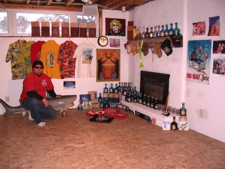 Cabo Cantina Canada basement bar.