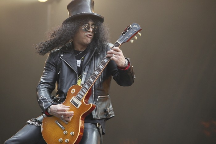 slash at pinkpop