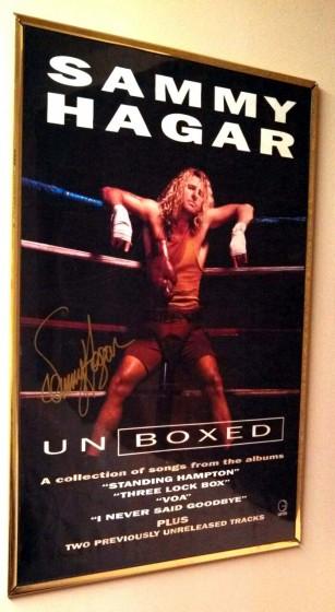Sammy Hagar UnBoxed Poster