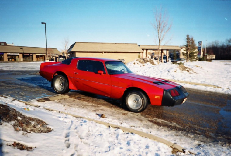 Chris Bumsteads (American Version) 403 automatic 79 Formula Firebird. Hey Sammy i am a fair lookin, clever thinkin Edmonton Alberta dude that responded to that inviting OU812 Cabo Wabo tune twice over deja vue, and Trans Ams twin (Highway Wonderland)!