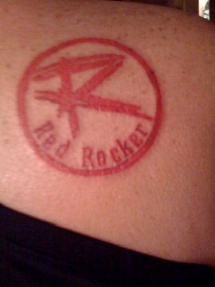 My Redrocker tat