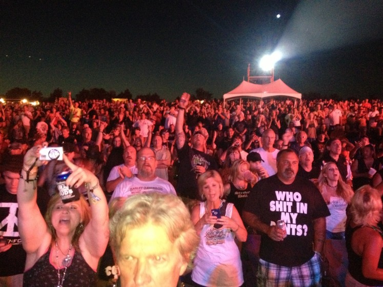 Republic of Texas crowd
