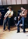 Sam & Gary at rehersal 1977