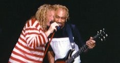 Sammy and Victor.  Universal Amphitheater in L.A, 1997