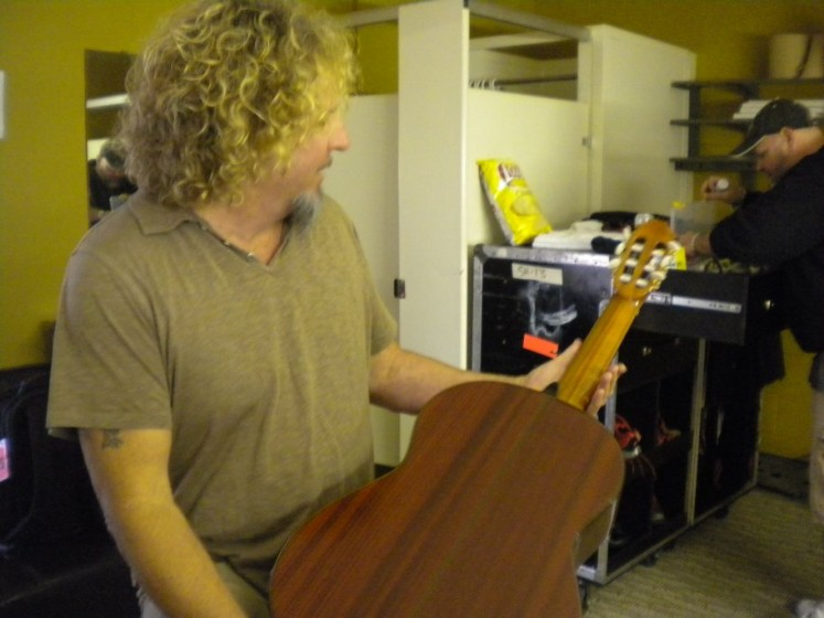 Sammy's New Guitar