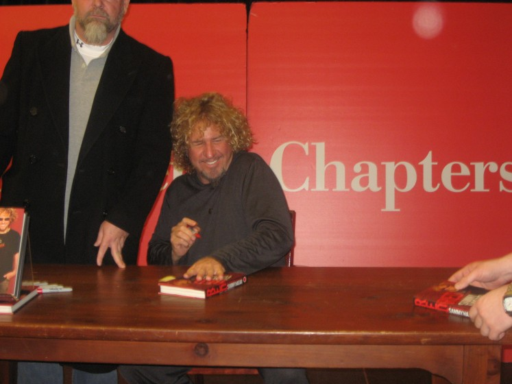 Sammy at his RED book signing Toronto, Ontario, Canada