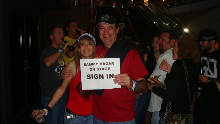 ON STAGE W/ SAMMY IN OHIO!!!