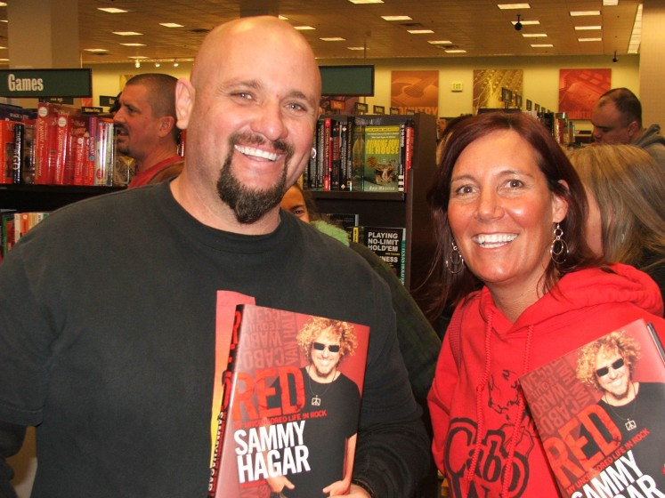 """RED"" book signing"
