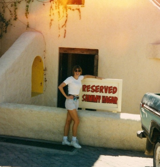 My first time @ Cabo Wabo 1995
