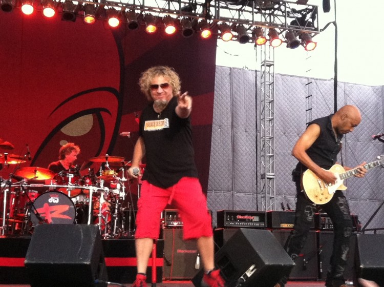 Sammy rocking Del Mar 7/27/13