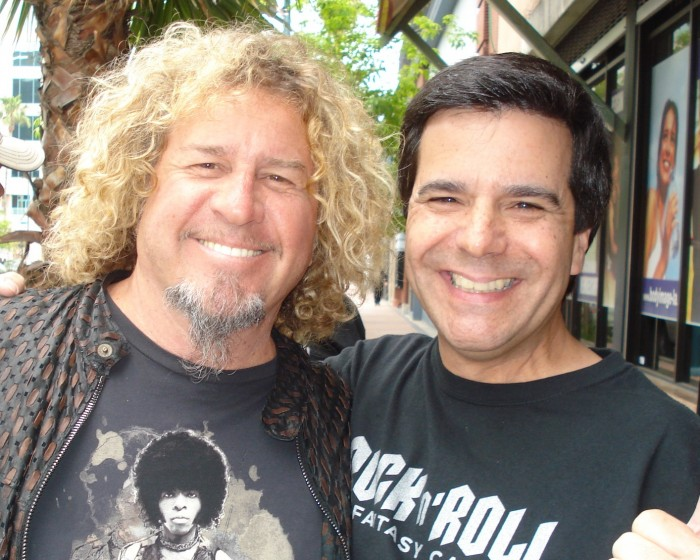 Sammy Hagar and Singer Geno Orphanopoulos