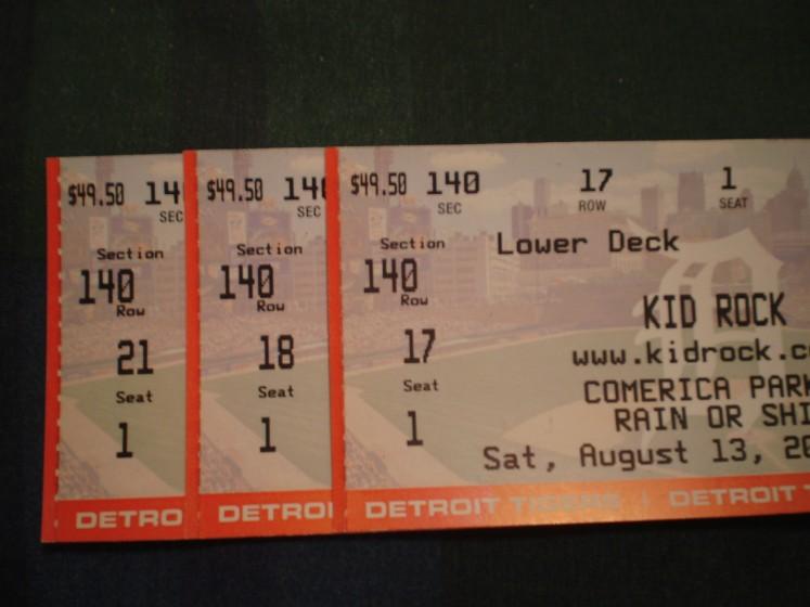 Sammy and Kid Rock Sat Aug 13, 2011 Co(bo)merica Park