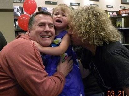 Sammy Kissing my Daughter