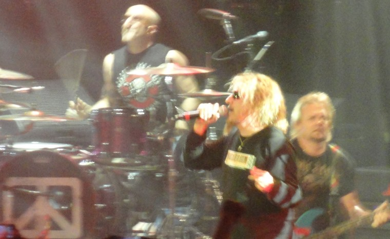 Chickenfoot in Detroit 4