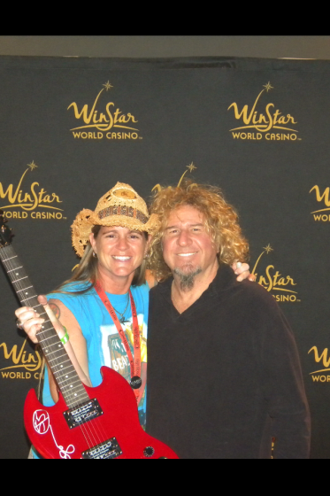 Me and Sammy @ Winstar