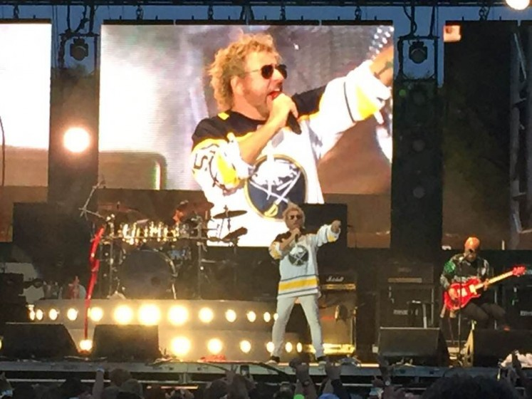 Sammy Repping the Sabres!