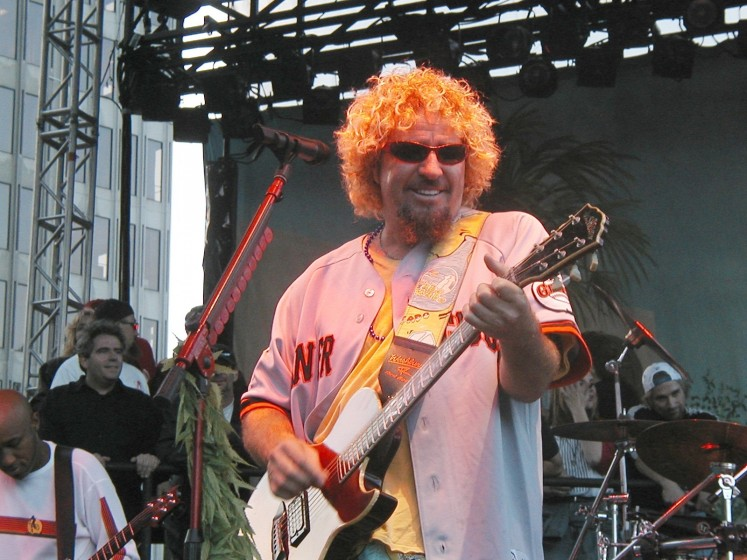 Sammy Hagar Day San Fracisco
