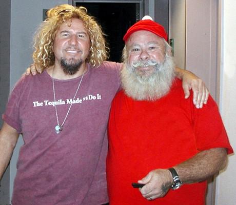 Santa Meets Sammy